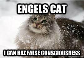 Engels Cat: I Can Haz False Consciousness