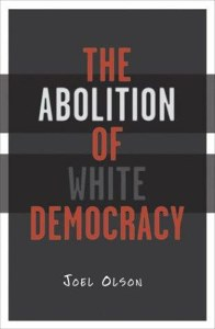 Image of book cover, with the title in alternative red, white, and grey text on a black background